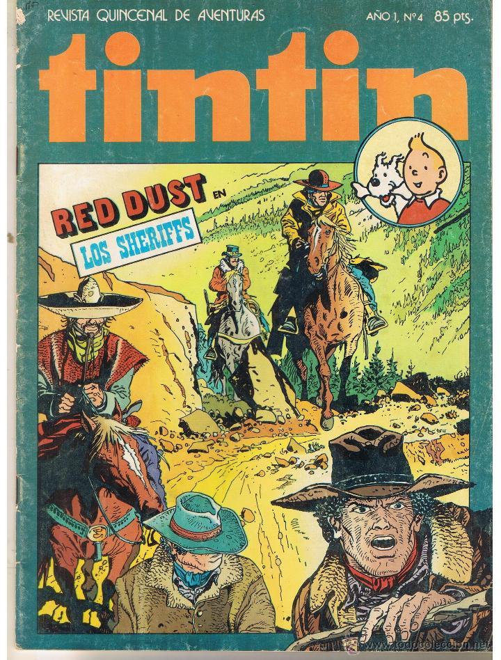 TINTIN. REVISTA QUINCENAL DE AVENTURAS. Nº 4. BRUGUERA 1981(ST/) (Tebeos y Comics - Buigas - Otros)