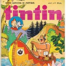 Tebeos: TINTIN. REVISTA QUINCENAL DE AVENTURAS. Nº 9. BRUGUERA 1981(ST/). Lote 45072735