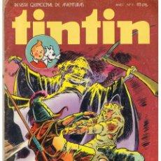 Tebeos: TINTIN. REVISTA QUINCENAL DE AVENTURAS. Nº 16. BRUGUERA 1981(ST/). Lote 45072809