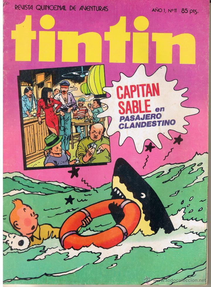 TINTIN. REVISTA QUINCENAL DE AVENTURAS. Nº 11. BRUGUERA 1981(ST/) (Tebeos y Comics - Buigas - Otros)