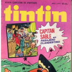 Tebeos: TINTIN. REVISTA QUINCENAL DE AVENTURAS. Nº 11. BRUGUERA 1981(ST/). Lote 45556129