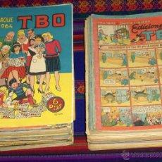 Tebeos: LOTE DE TBO, 9 ALMANAQUES, 82 EXTRAS Y 106 SEMANARIOS. BUIGAS. GRAN PRECIO Y LOTE AMPLIADO.. Lote 45610201
