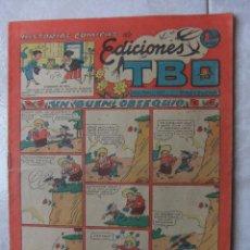 Tebeos: HISTORIAS COMICAS DE EDICIONES TBO. Lote 45667331