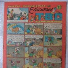 Tebeos: ALBUM HUMORISTICO DE EDICIONES TBO. Lote 45667440