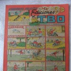 Tebeos: CUADERNO SELECTO DE EDICIONES TBO. Lote 45667479