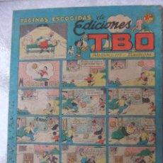 Tebeos: PAGINAS ESCOGIDAS DE EDICIONES TBO. Lote 45667516