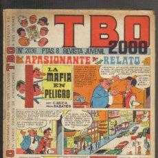 Livros de Banda Desenhada: TBO 2000, Nº 2036. Lote 45826238