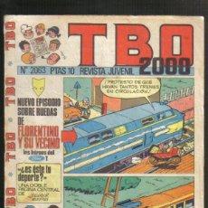 Livros de Banda Desenhada: TBO 2000, Nº 2063. Lote 45826541