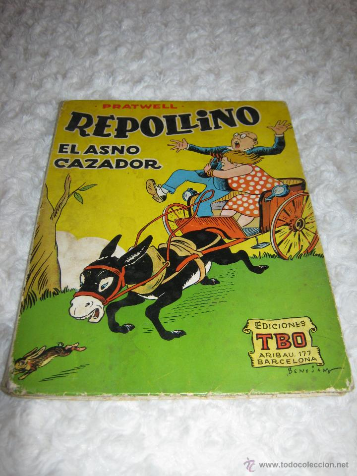 REPOLLINO - EL ASNO CAZADOR (Tebeos y Comics - Buigas - Otros)