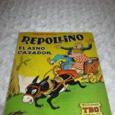 Tebeos: REPOLLINO - EL ASNO CAZADOR. Lote 45829020