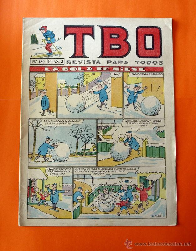 TBO Nº 430 - EDITORIAL BUIGAS - (Tebeos y Comics - Buigas - TBO)