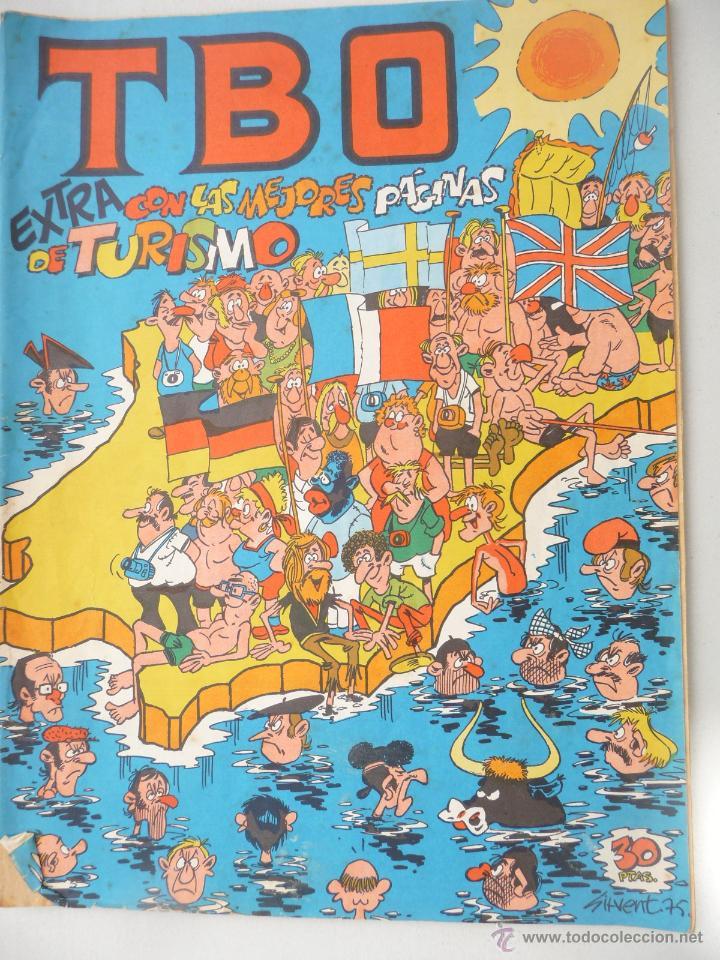 TBO. EXTRA CON LAS MEJORES PÁGINAS DE TURISMO (Tebeos y Comics - Buigas - TBO)
