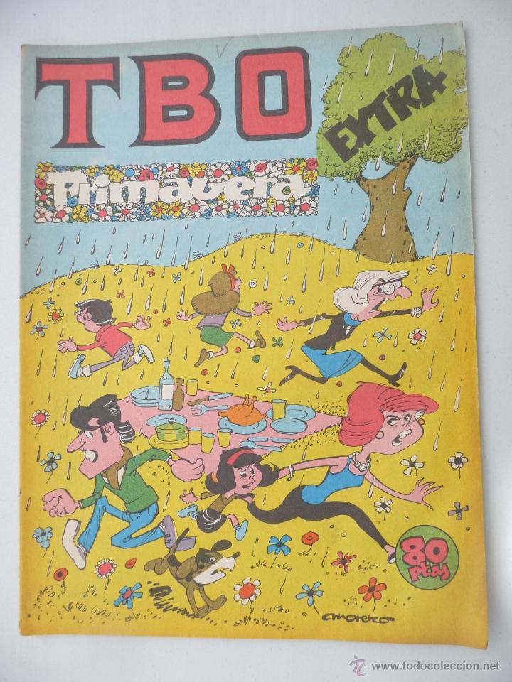 TBO. EXTRA PRIMAVERA 82. 80 PTAS (Tebeos y Comics - Buigas - TBO)