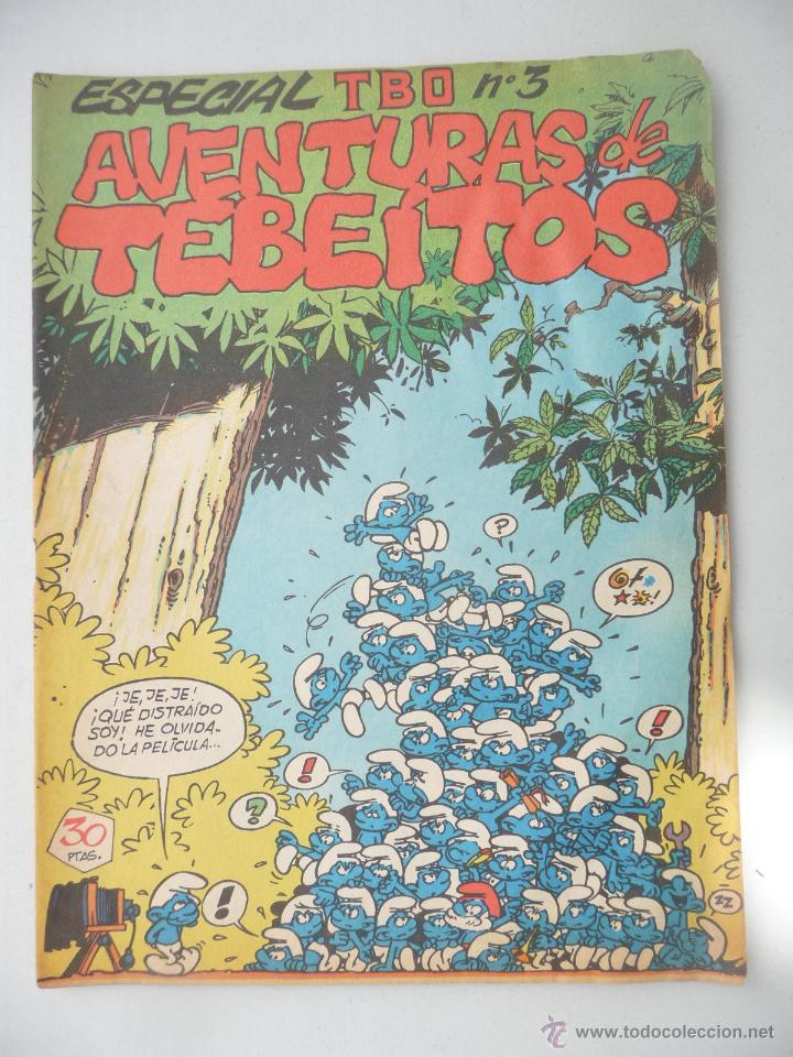 TBO. ESPECIAL Nº 3. AVENTURAS DE TEBEÍTOS. 30 PTAS, CON (Tebeos y Comics - Buigas - TBO)