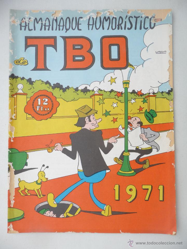 TBO. ALMANAQUE HUMORÍSTICO 1971. 12 PTAS (Tebeos y Comics - Buigas - TBO)
