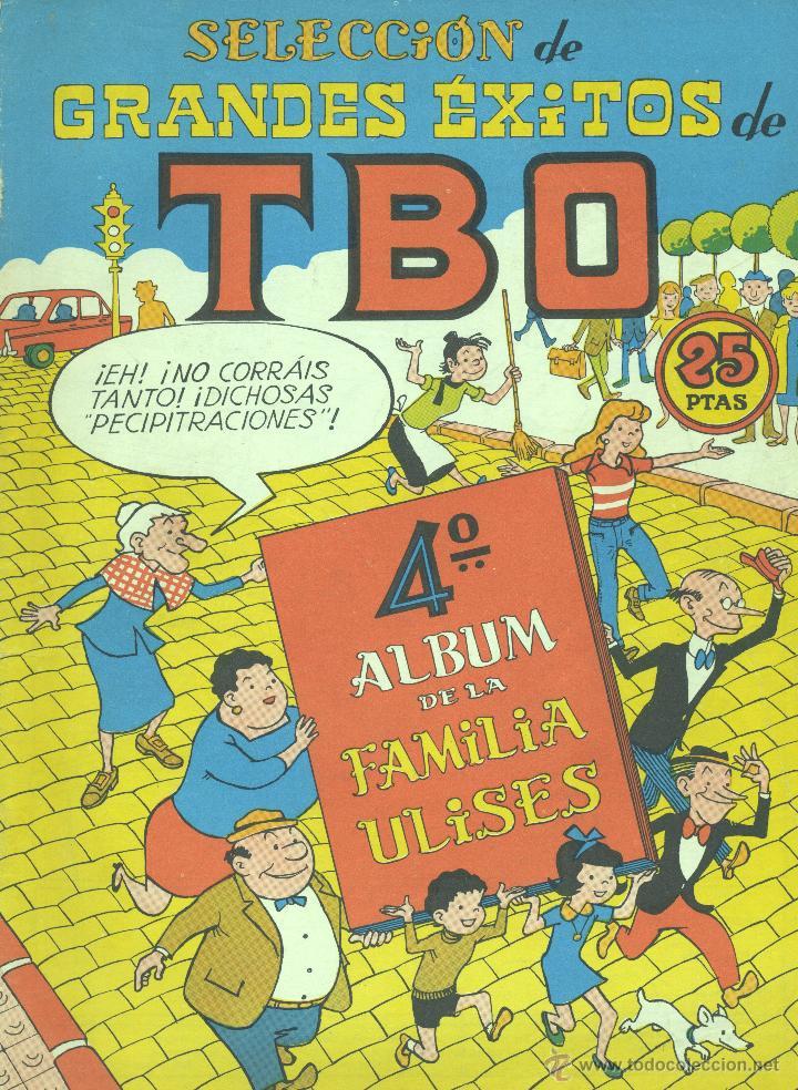 FAMILIA ULISES. ÁLBUM 4º. TBO. DIBUJOS: BENEJAM (Tebeos y Comics - Buigas - TBO)