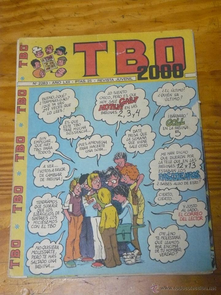 TEBEOS-COMICS GOYO - TBO 2000 - Nº 2283 - ED. BUIGAS - *AA99 (Tebeos y Comics - Buigas - TBO)