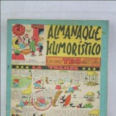 Tebeos: ANTIGUO CÓMIC TBO - S/N. ALMANAQUE HUMORÍSTICO. LA TRAMPA - EDICIONES TBO / BUIGAS. Lote 46086446