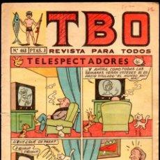 Tebeos: TBO AÑO L Nº 463. 1966, TELESPECTADORES. ED. BUIGAS, ESTIVILL Y VIÑAS, S.L.. Lote 46316034