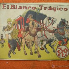 Tebeos: EL BLANCO TRÁGICO . COLECCIÓN GRÁFICA TBO. CASA EDIT BUIGAS , PORTADA OPISSO. (VER FOTOS).. Lote 46416309