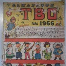 Tebeos: ANTIGUO - TBO - DEL AÑO 1965 - CONTIENE ALMANAQUE PARA EL AÑO 1966 -. Lote 46610308