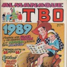Tebeos: ALMANAQUE TBO 1989 - OPISSO -. Lote 47071535