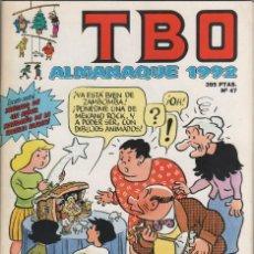 Tebeos: ALMANAQUE TBO 1992. Lote 47071553