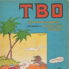 Tebeos: TBO EXTRAORDINARIO DEDICADO A MORCILLÓN Y BABALI. 1958. Lote 47457387