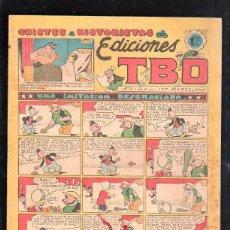 Tebeos: CHISTES E HISTORIETAS DE EDICIONES TBO. UNA IMITACION DESGRACIADA. BARCELONA. 1.20 PESETAS. Lote 47530692
