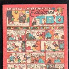 Tebeos: CHISTES E HISTORIETAS DE EDICIONES TBO. EL TREN DE VILLACONEJOS. BARCELONA. 1.20 PESETAS.. Lote 47532346