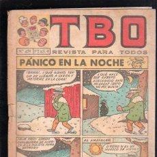 Tebeos: REVISTA PARA TODOS. TBO. Nº 479. PANICO EN LA NOCHE. Lote 47585543