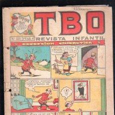 Tebeos: REVISTA INFANTIL TBO. Nº 518. DECEPCION CINEGETICA.. Lote 47585770