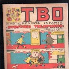 Tebeos: REVISTA INFANTIL TBO. Nº 652. AVENTURA TELEFONICA. Lote 47585937