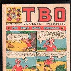 Livros de Banda Desenhada: REVISTA INFANTIL. TBO. Nº 559. NO ERA UNA BROMA. Lote 47672255