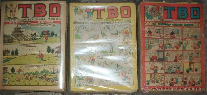 TBO (2ª EPOCA) (BUIGAS) (LOTE DE 662 TEBEOS) (Tebeos y Comics - Buigas - TBO)