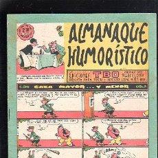 Tebeos: ALMANAQUE HUMORISTICO. EDICIONES TBO. CAZA MAYOR... Y MENOR.. Lote 47831117
