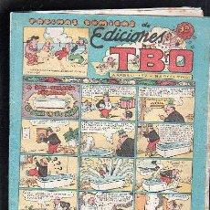 Tebeos: PAGINAS COMICAS DE EDICIONES TBO. A DON NAZARIO SEQUILLO EL AGUA LE DA MIEDO. Lote 47832567