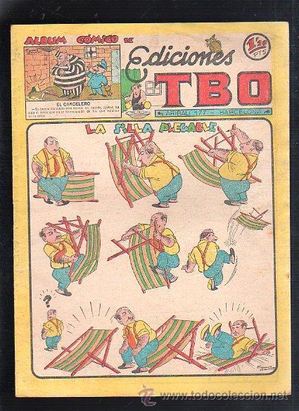 ALBUM COMICO DE EDICIONES TBO. LA SILLA PLEGABLE (Tebeos y Comics - Buigas - TBO)