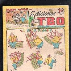 Tebeos: ALBUM COMICO DE EDICIONES TBO. LA SILLA PLEGABLE. Lote 47832625