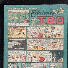 Tebeos: REVISTA COMICA DE EDICIONES TBO. UNA MISTERIOSA DESAPARICION EN LA CLINICA DEL DOCTOR PENICILINO. Lote 47832669
