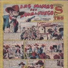 Tebeos: COMIC COLECCION EPISODIOS Y AVENTURAS DE S LAS MINAS DEL AGUA DE FUEGO . Lote 48537057