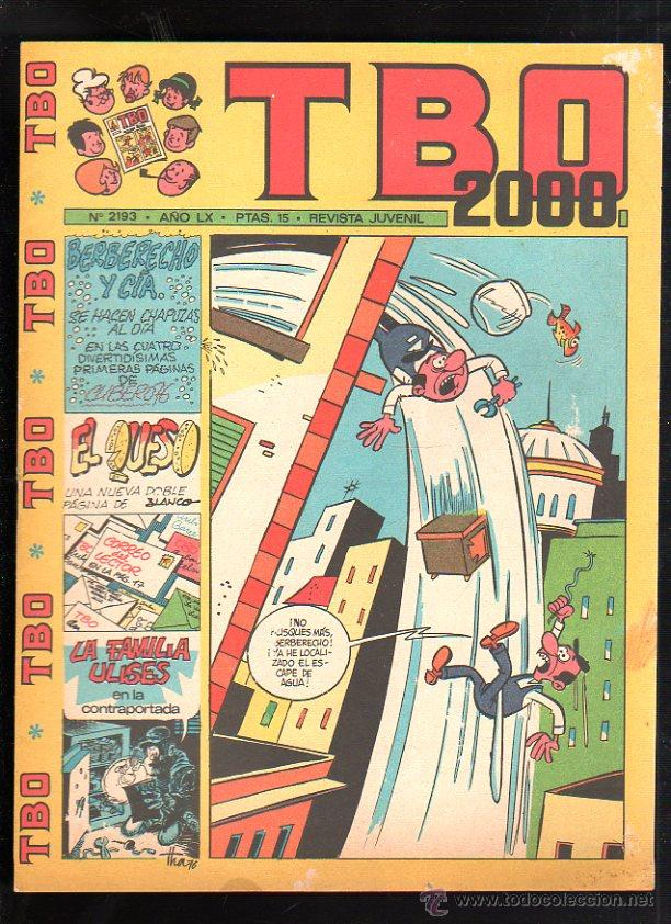 REVISTA JUVENIL. TBO 2000. AÑO LX. Nº 2193. (Tebeos y Comics - Buigas - TBO)