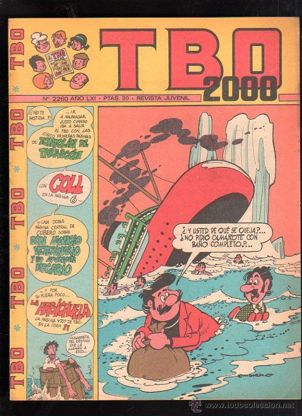 REVISTA JUVENIL. TBO 2000. AÑO LXI. Nº 2260. (Tebeos y Comics - Buigas - TBO)