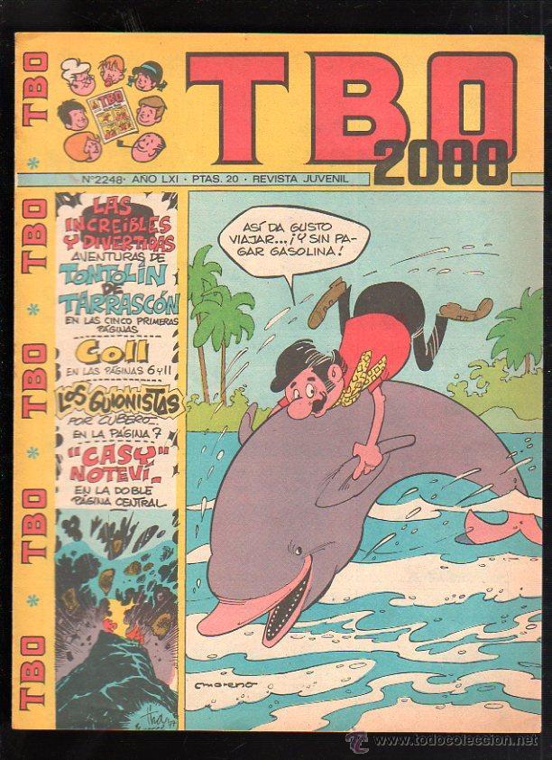 REVISTA JUVENIL. TBO 2000. AÑO LXI. Nº 2248. (Tebeos y Comics - Buigas - TBO)