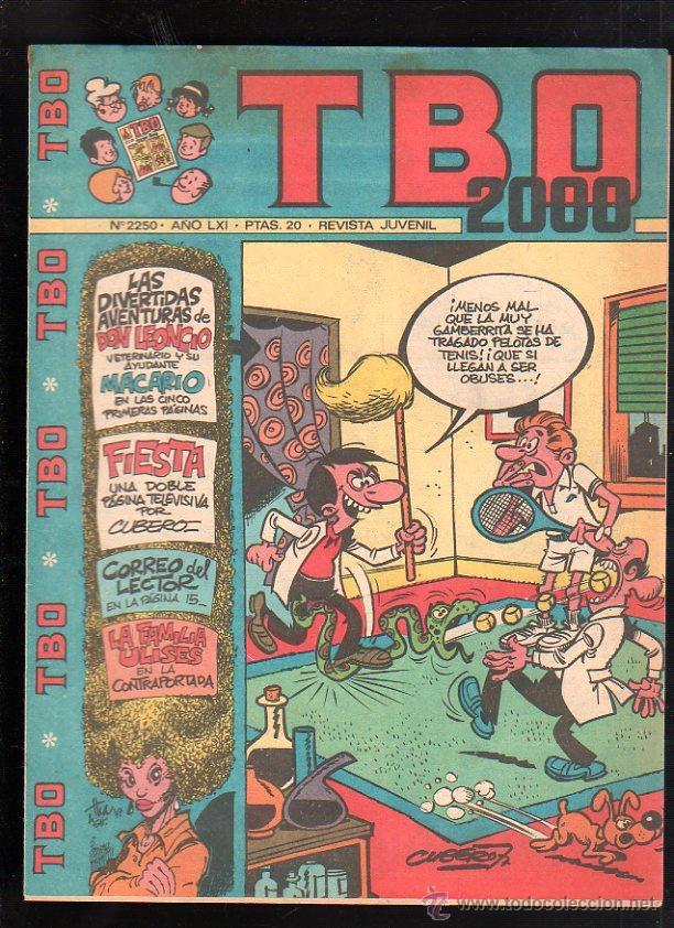 REVISTA JUVENIL. TBO 2000. AÑO LXI. Nº 2250. (Tebeos y Comics - Buigas - TBO)