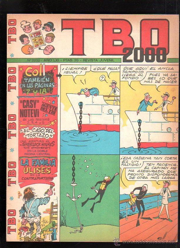 REVISTA JUVENIL. TBO 2000. AÑO LXI. Nº 2232. (Tebeos y Comics - Buigas - TBO)