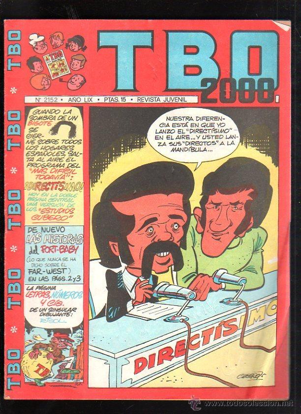 REVISTA JUVENIL. TBO 2000. AÑO LIX. Nº 2152. (Tebeos y Comics - Buigas - TBO)