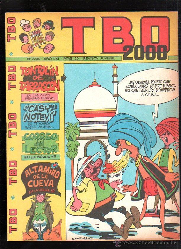 REVISTA JUVENIL. TBO 2000. AÑO LXI. Nº 2235. (Tebeos y Comics - Buigas - TBO)