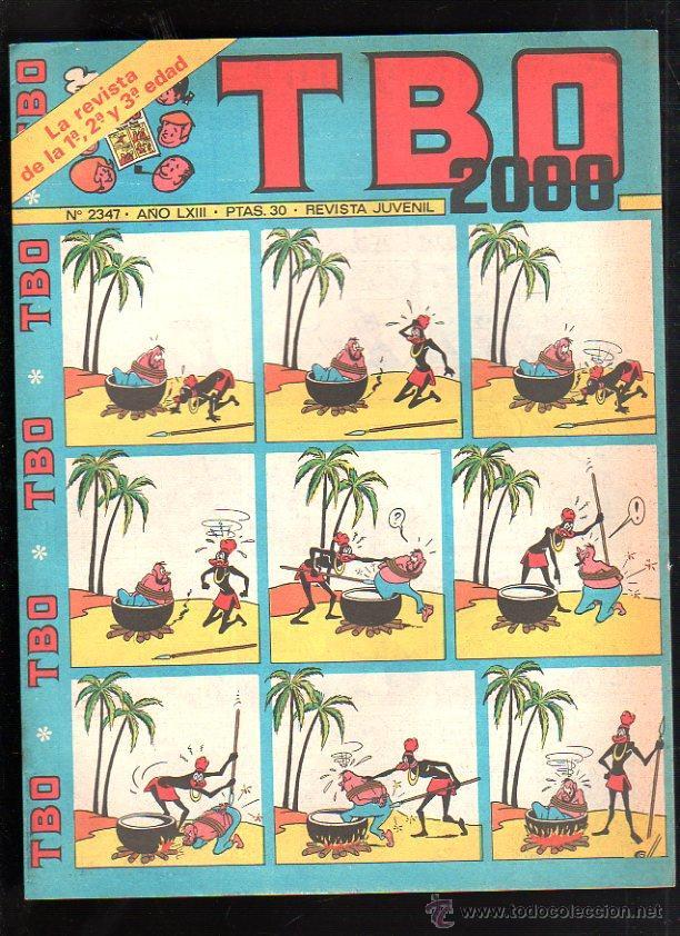 REVISTA JUVENIL. TBO 2000. AÑO LXIII. Nº 2347. (Tebeos y Comics - Buigas - TBO)