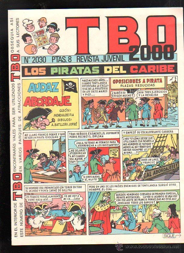 REVISTA JUVENIL. TBO 2000. Nº 2030. (Tebeos y Comics - Buigas - TBO)